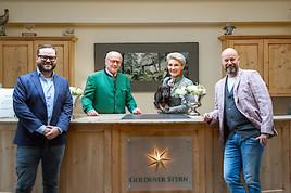 Hotel & Restaurant Goldener Stern: Frischer Wind durch Neuübernahme.