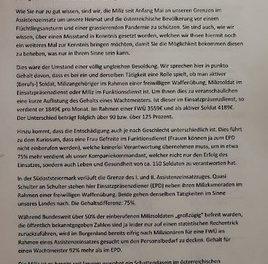 Bundesheergewerkschaft: FBM TANNER wird von Realität gnadenlos eingeholt!