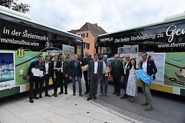 Der Thermenlandbus nimmt wieder Fahrt auf