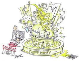 FUNNY MONEY. Geld in der Karikatur
