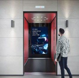 Die perfekten Werbeflächen: Schindler Digital Media Services