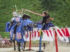 Ritterturnier zu Pferde Laxenburg bei Wien