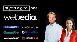 styria digital one vermarktet ab sofort Webedia – Europas führenden Publisher von Film- & Gaming-Portalen