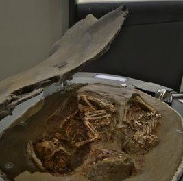 Neueste Forschungsergebnisse identifizieren die älteste Zwillingsbestattung der Welt