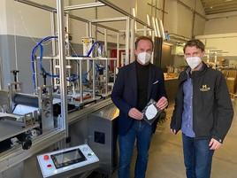 Coronavirus: Größter österreichischer Schutzmaskenhersteller baut weiter aus