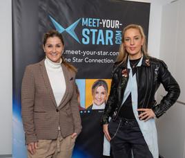 Lilian Klebow und Lizz Görgl präsentierten MEET YOUR STAR