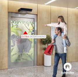 Schindler startet eine neue globale Werbekampagne