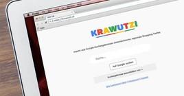 krawutzi.at färbt Google Suchergebnisse rot-weiß-rot, um lokale Händler bei Google besser sichtbar zu machen.