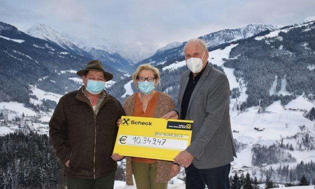 Hotel in Wagrain sammelt über 10.000 Euro für Spendenaktion