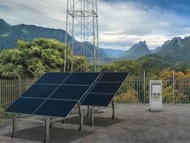 Solarstrom für Mobilfunknetz (FOTO)