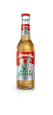 Jetzt auch Almdudler Mate & Guarana in der Glasmehrwegflasche
