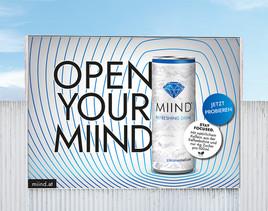 Neues Erfrischungsgetränk MIIND startet mit vollem Elan ins Jahr 2021. –