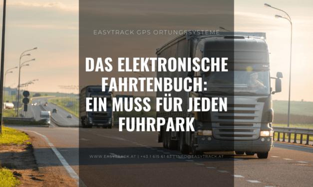 Das elektronische Fahrtenbuch. ein Muss für jeden Fuhrpark