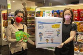 Bunte FFP2-Masken für kranke Kinder in Wiener Einrichtungen