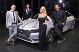 DS AUTOMOBILES mit VIER PROMINENTEN MARKENBORSCHAFTERN in Österreich