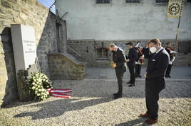 Katholische Studentenverbände gedenken NS-Opfern