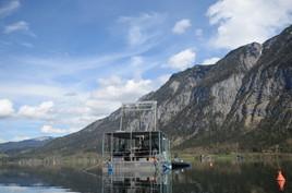Umweltarchiv Hallstätter See: Bislang tiefste Sediment-Bohrung gelungen