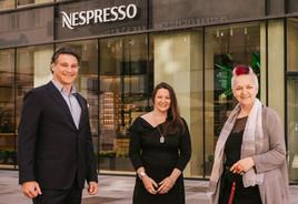 NESPRESSO Atelier startet Kooperation mit der Künstlerhaus Vereinigung und präsentiert neue Kunstinstallation von Victoria Coeln