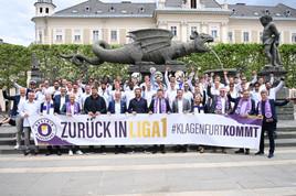 Landeshauptstadt Klagenfurt gratuliert der SK-Austria