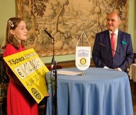 Premio Leonardo da Vinci an Alma Deutscher verliehen
