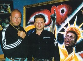 """Saxo Bank of Art haut' richtig rein! """"Muhammad Ali King of the World"""""""