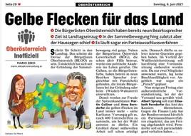 Die Bürgerlisten Oberösterreich kurz BLOÖ schreiten Schritt für Schritt voran zum Einzug in den oberösterreichischen Landtag!