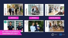 Wer katapultiert sich ins Finale? Sechs Start-ups aus der DACH-Region in der Vorschlussrunde von EIT Health Catapult (FOTO)