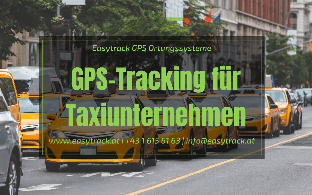 GPS-Tracking für Taxiunternehmen