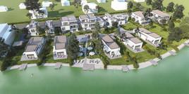 "Wohnprojekt ""Gardens & Green"" in Lanzenkirchen setzt neue Standards: Seezugang, Golfplatz, Berge"