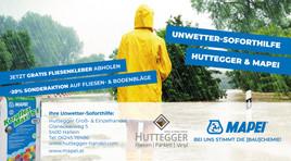 Soforthilfe für Halleiner Unwetter-Betroffene
