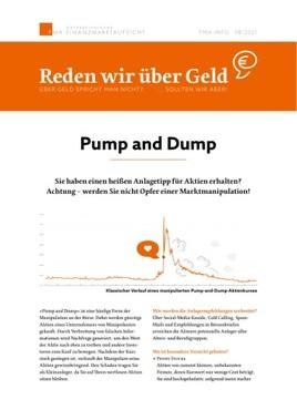 """""""Reden wir über Geld"""": FMA warnt Kleinanleger vor der Marktmanipulationsform """"Pump and dump"""""""