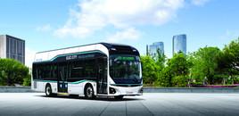 Hyundai ELEC CITY Fuel Cell Stadtbus Auslieferung in Österreich